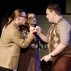 Merrily We Roll Along | Little Triangle